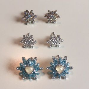 Snowflake Earrings Claire's
